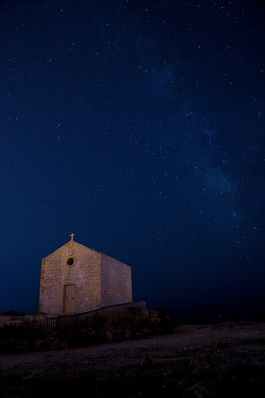 Chapel dedicated to St Mary Magdalene at the Dingli Cliffs