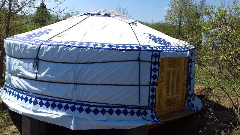 Yurta desde el exterior