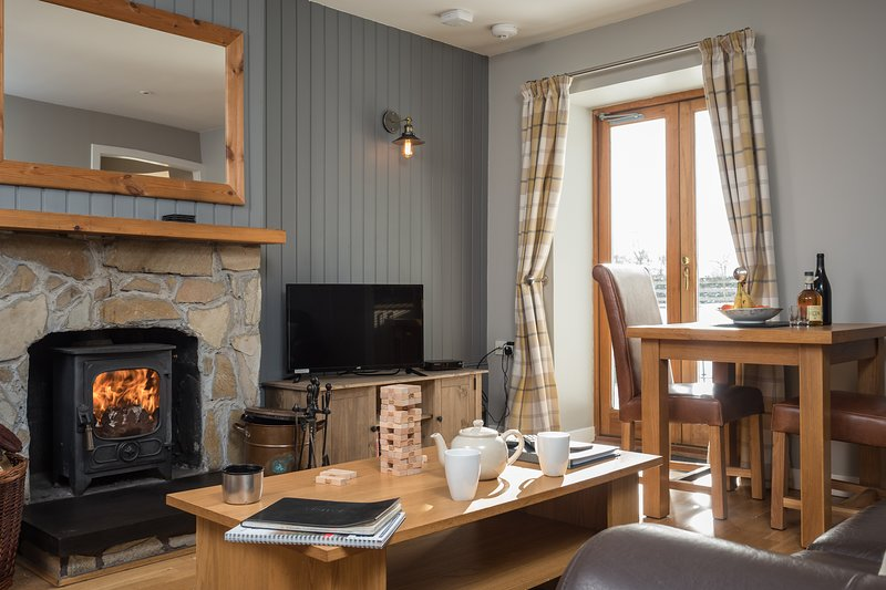 Cedar Cottage at Highland Holiday Cottages, vacation rental in Dalwhinnie