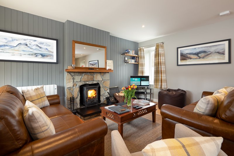 Hazel Cottage at Highland Holiday Cottages, holiday rental in Badenoch and Strathspey
