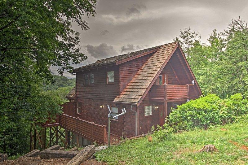 Con 1 camera da letto, un soppalco e 1 bagno, questa casa ospita 7.