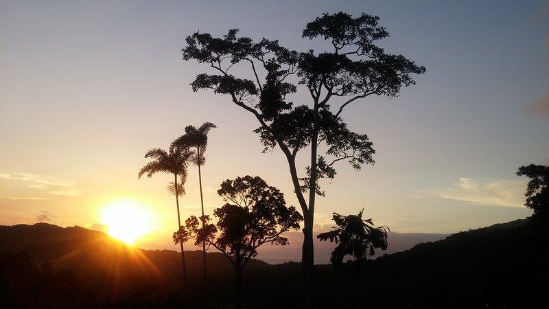 Sunrise at Yurara.