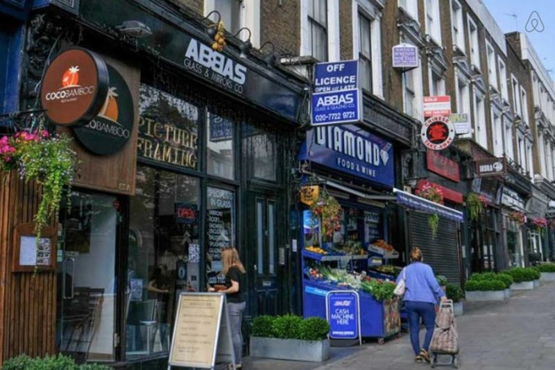 Quirky streets of Chalk Farm