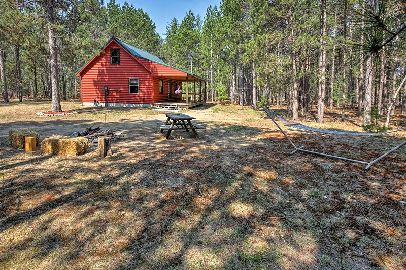 10 Wooded Acres | Snowmobile Trail Access