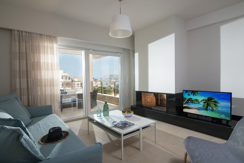 Gras House 2, Agia Pelagia, holiday rental in Mononaftis