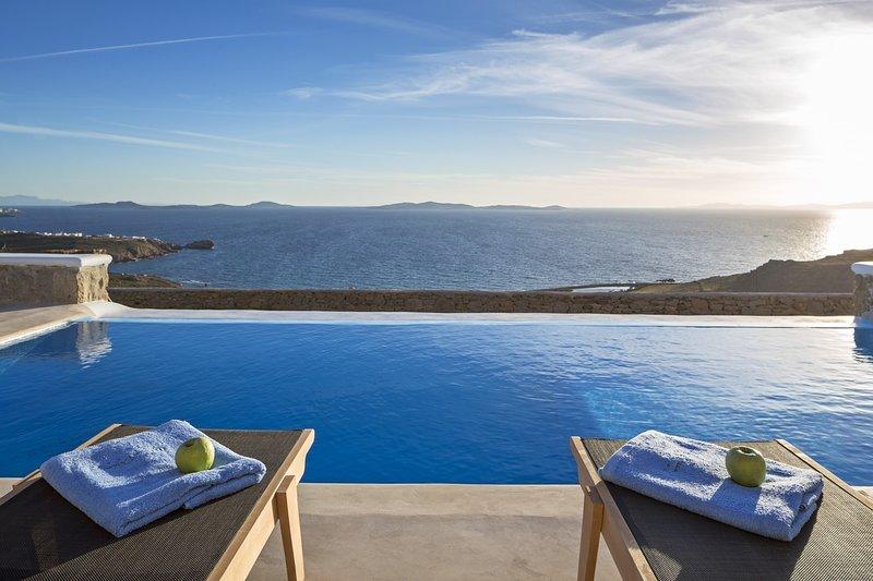 Pasiphae I - 3 Bedrooms - Sea Views, holiday rental in Faros Armenistis