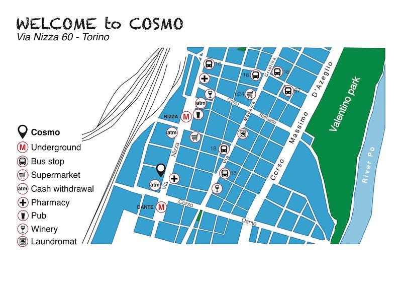 COSMO - Piccolo monolocale presso Piazza Nizza, vacation rental in Nichelino