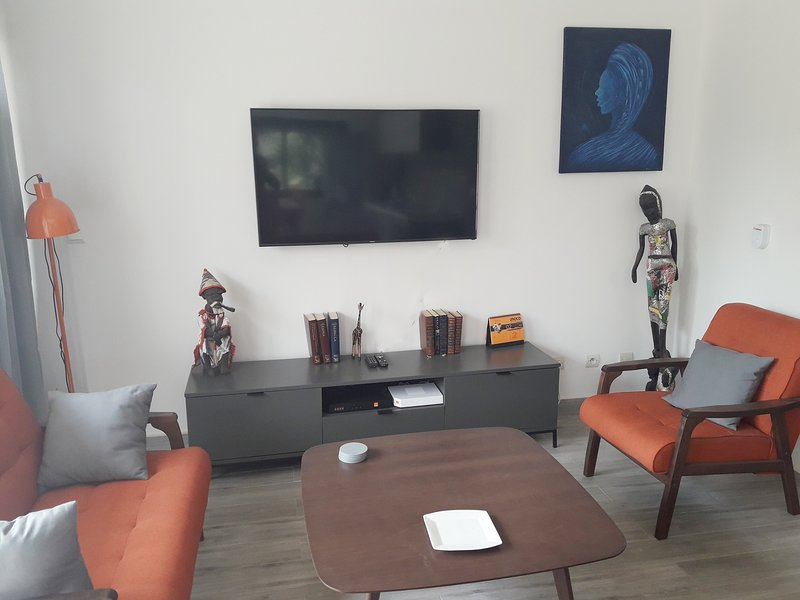 Samba apartement in Saly residentie Nathangue 1, location de vacances à Saly