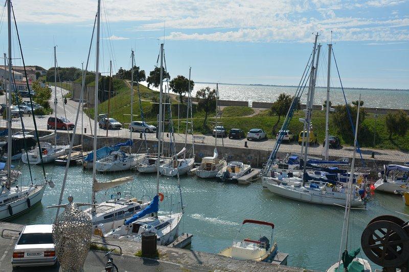 Pour les amoureux de la mer et des bateaux, location de vacances à Saint-Martin-de-Ré