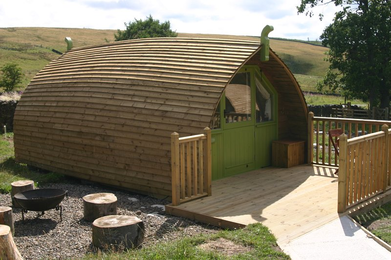 Langley Glamping Cabins - Humbleton, vacation rental in Twice Brewed