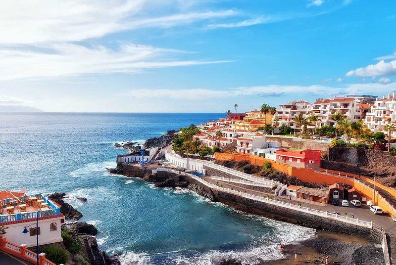 Beautiful studio near the ocean. Los Gigantes, holiday rental in Puerto de Santiago