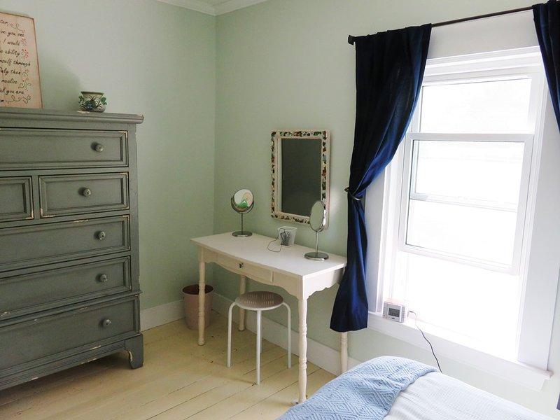 Sovrum med två enkelsängar
