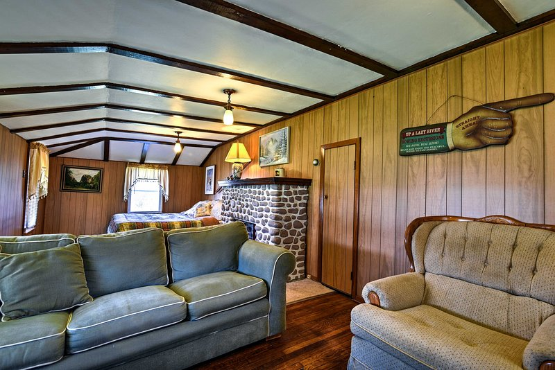 All of your Dawson adventures begin at this vacation rental home!
