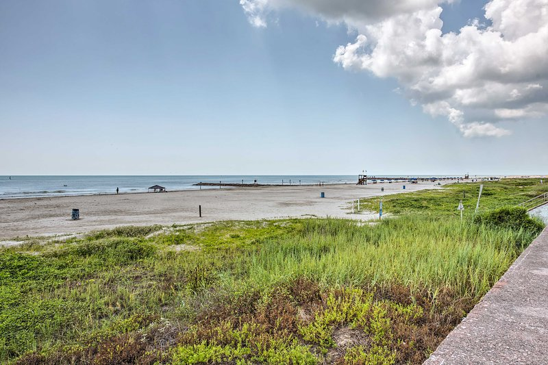 Book your Galveston getaway to this top-notch vacation rental home!