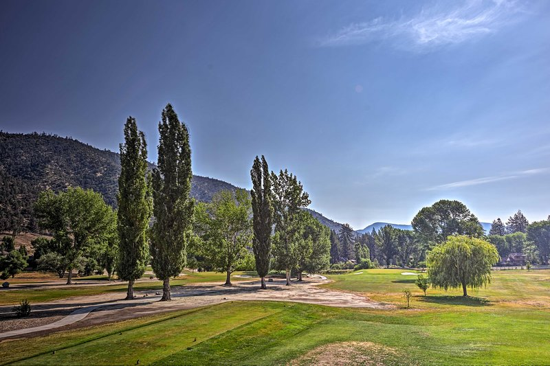 Spend the day on the golf course for an additional fee.