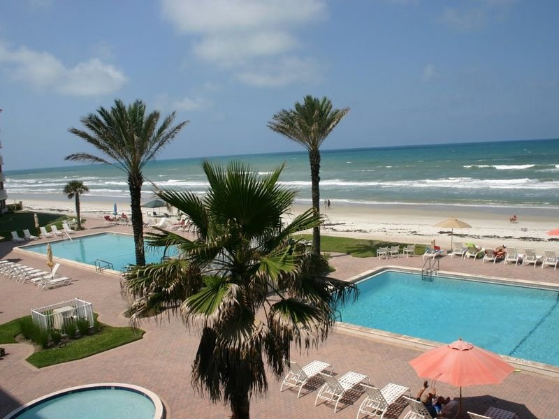Enjoy breathtaking views of the car free beach from this lovely 3 bedroom 3 bath condo.