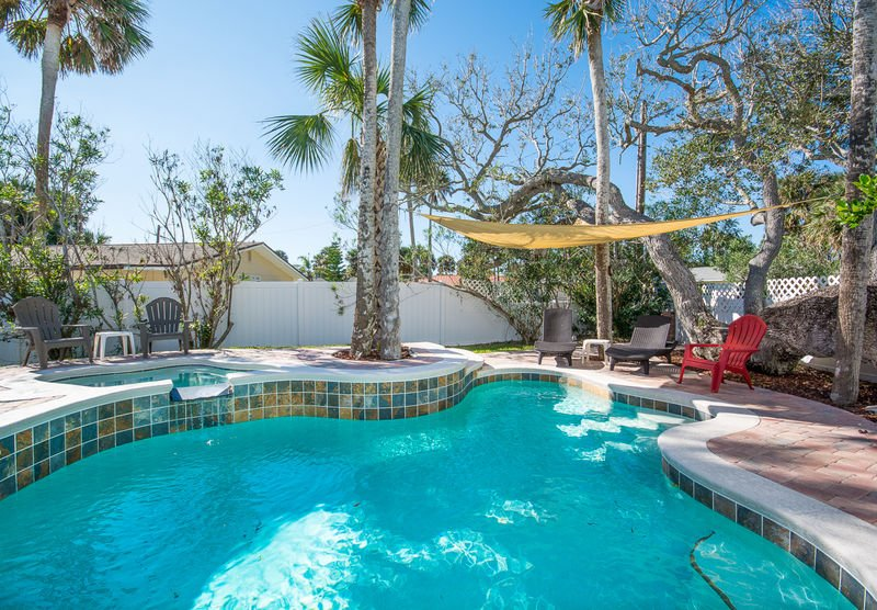 There is something for everyone at this wonderful pool home!