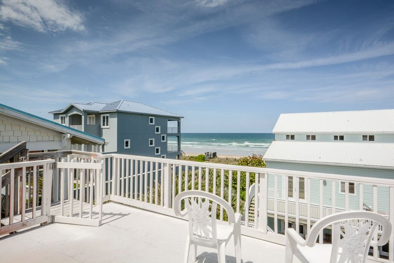 Enjoy the Atlantic breezes from this deck with a panoramic view.