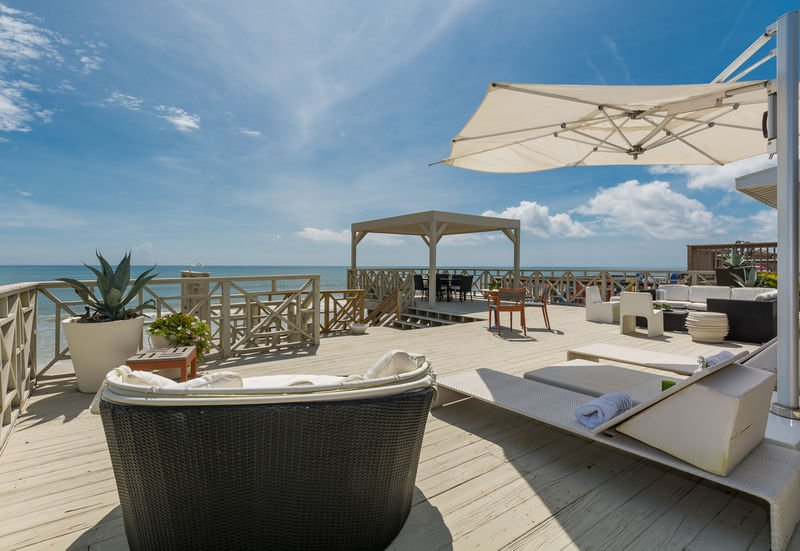Blue skies, ocean breezes and plenty of room for entertaining or relaxing,