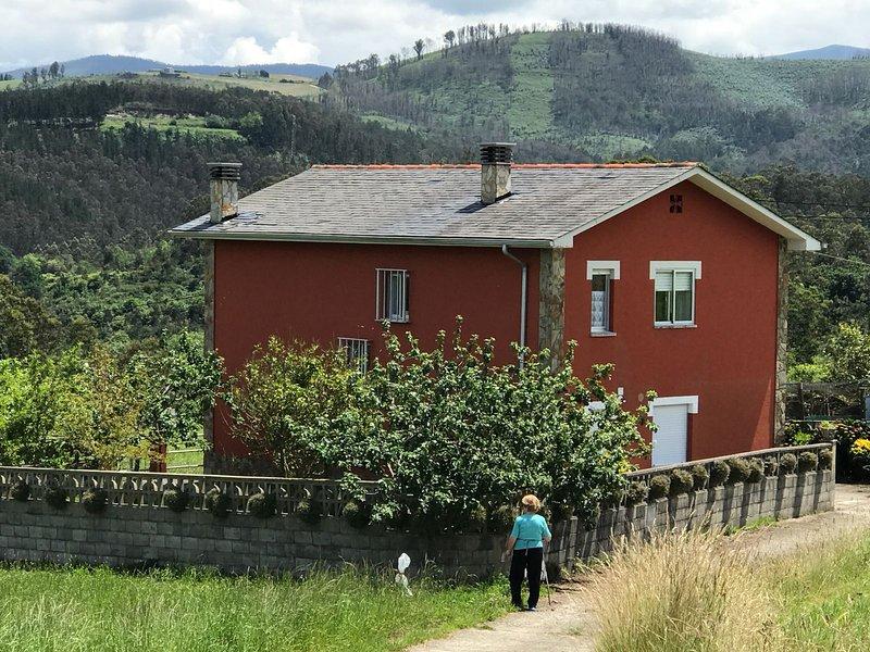 Magnifica casa para relax y descanso vacacional.