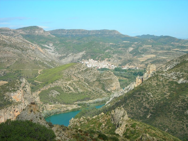Camarasa, important climbing area