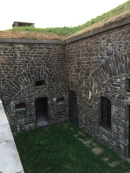 View of the barracks