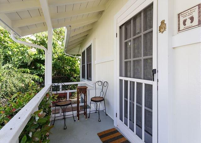 Front Porch - Cottage A