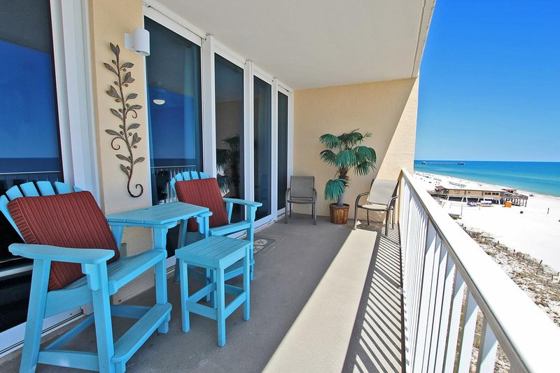Gulf Front with Unobstructed Beach View