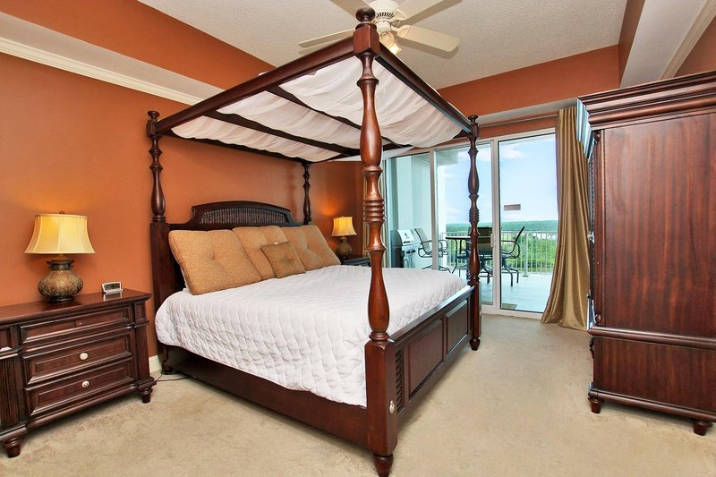 Master Bedroom with a King Poster Bed