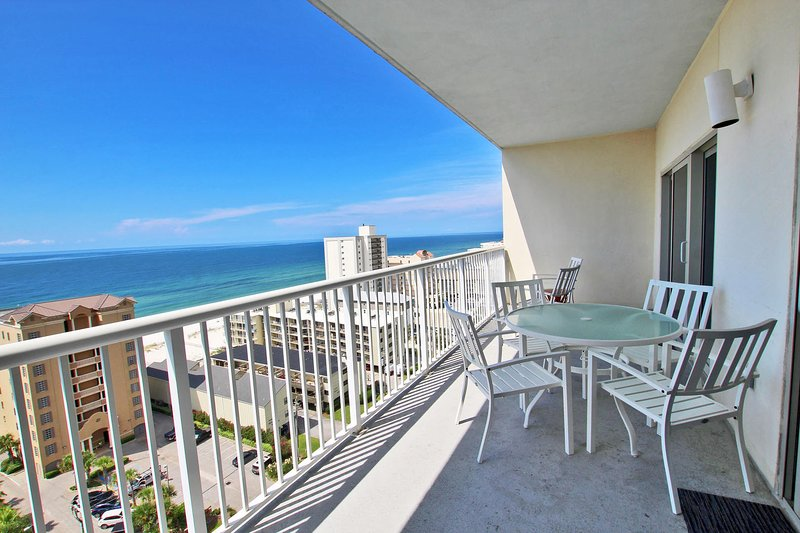 Large 13th Floor Gulf View Balcony