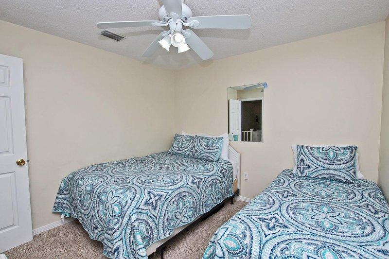 Groot bed en lits-jumeaux bed