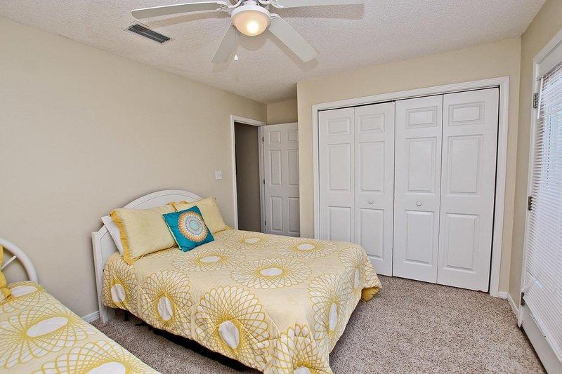 Tweepersoonsbed en groot bed