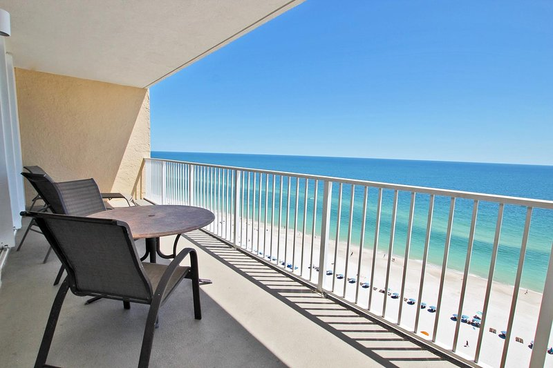 Gulf Front Beach View Balcony