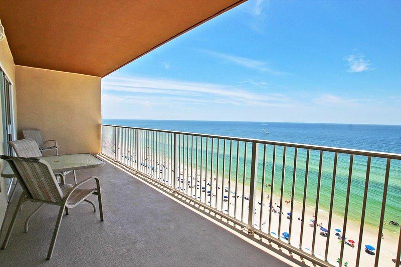 7th Floor Beach Front Balcony