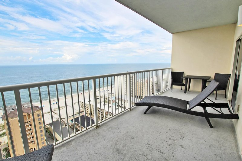 19th Floor Gulf View Balcony