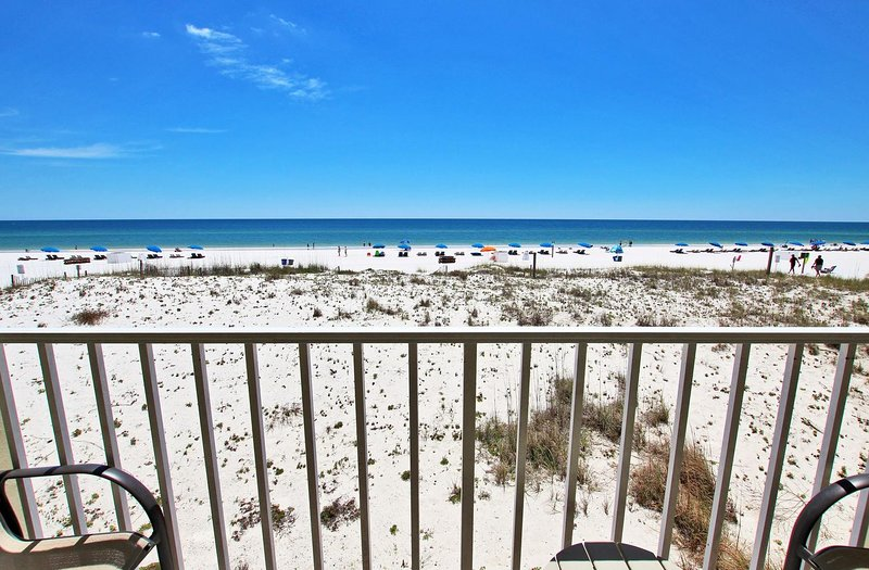 Unobstructed Beach View