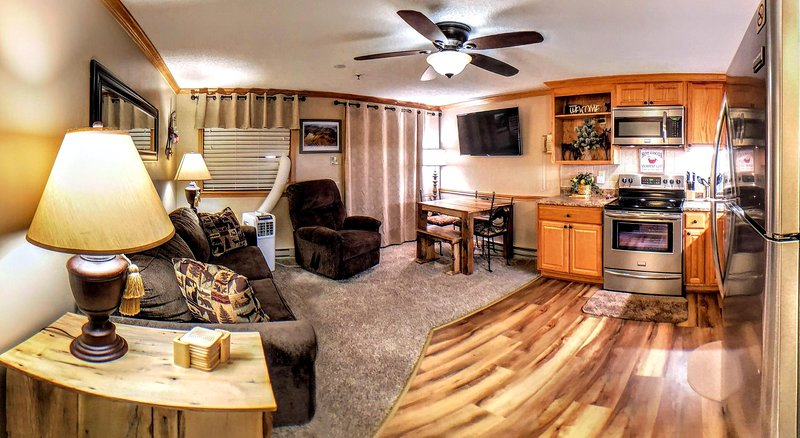 Mountain Lodge 222 (TRIPLE DEUCE!) - Your Snowshoe home away from home! Clean & Cozy!
