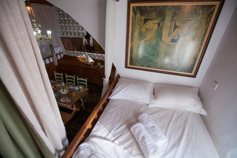 Arch villa, traditional holiday house on Rhodes, casa vacanza a Kamiros Scala