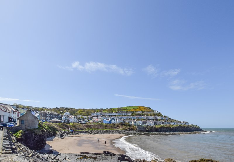 Storws Cei - New Quay Penthouse- top floor penthouse overlooks the beach: BOW35, vacation rental in New Quay