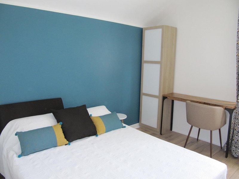 """Habitación privada """"Côté Jardin"""" convertida en habitación doble (1 cama doble)"""