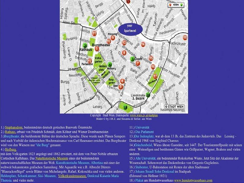 A poca distancia de los principales lugares de interés y fácil acceso al transporte público.