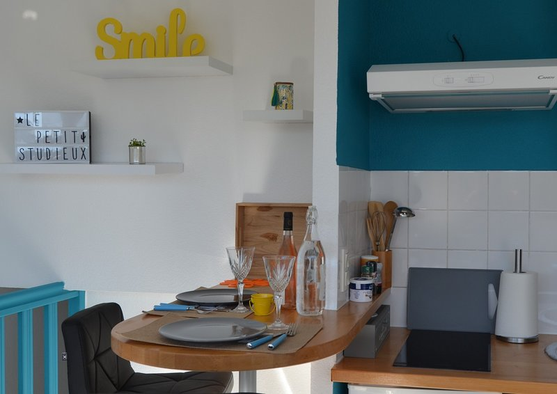 Le 'petit studieux', studio cosy sur Albi, vacation rental in Teillet