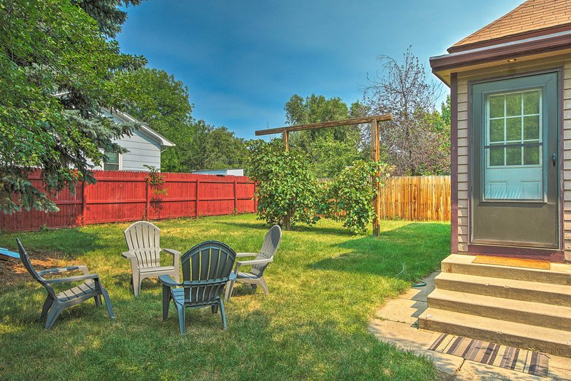 Book your Fort Collins escape to this 2-bed, 1-bath vacation rental home!