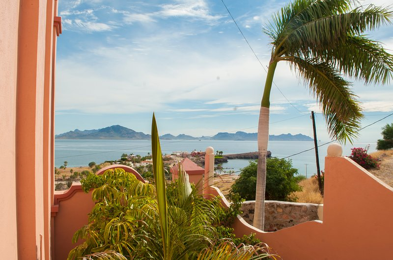 Vista sul mare di Cortez dall'ingresso e dalla camera da letto principale