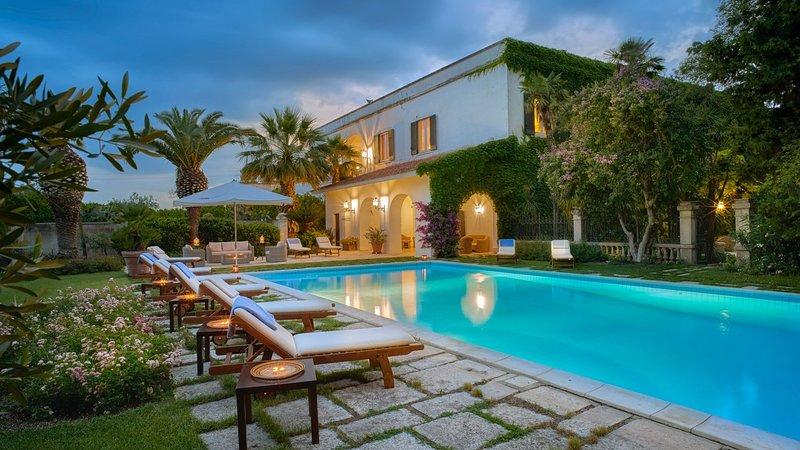Luxury villa Masseria Panfi, holiday rental in Province of Barletta-Andria-Trani
