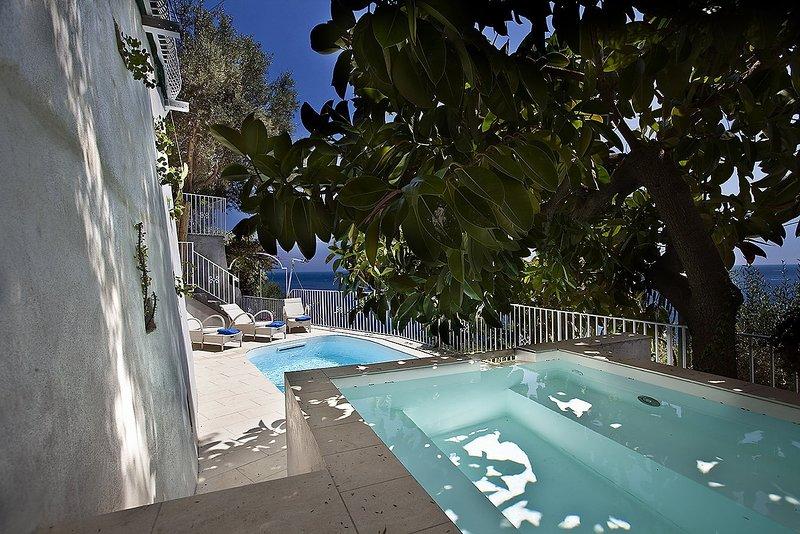 Luxury villa Venere, holiday rental in Positano