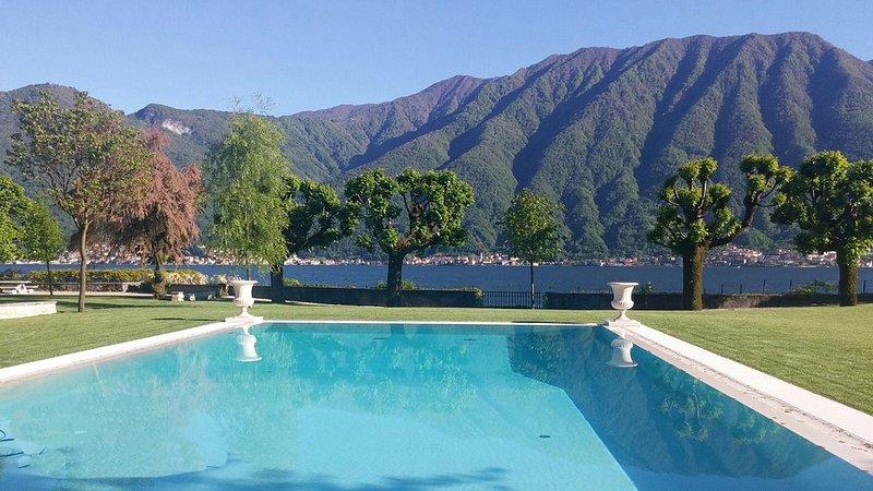 Luxury villa Balbiano, vacation rental in Menaggio