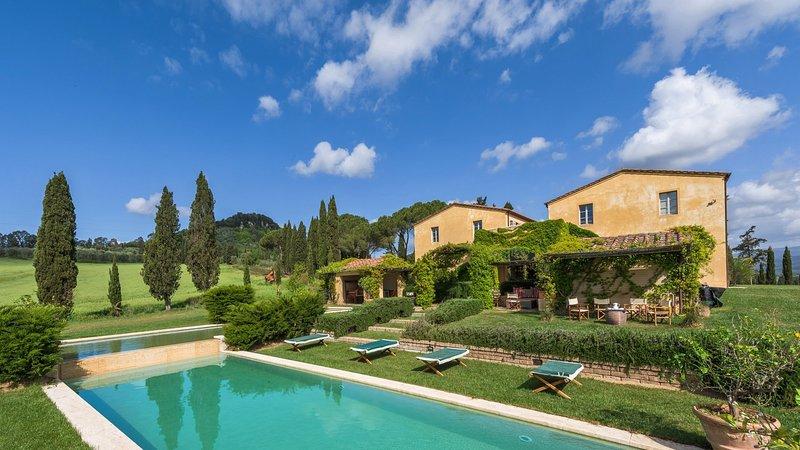 Luxury villa Medusa, holiday rental in Bagno di Gavorrano