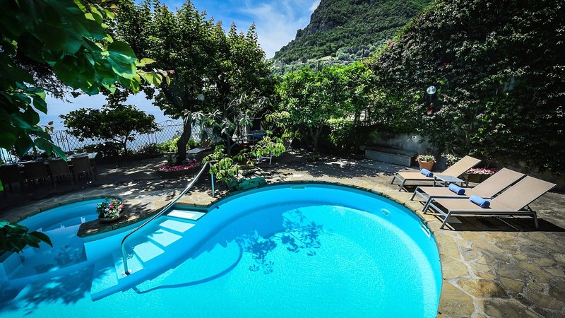Luxury villa Giunone, holiday rental in Positano