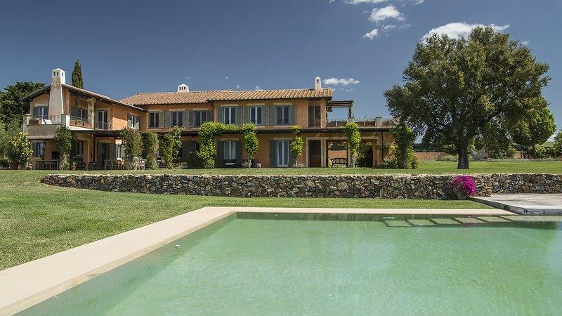 Luxury villa Corallo, holiday rental in Capalbio